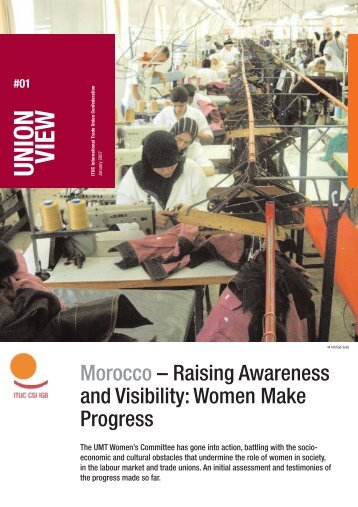Union View: Marocco - World Day for Decent Work