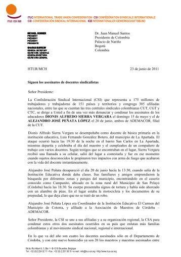 carta - ITUC