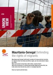 Mauritania-Senegal Defending the rights of migrants - ITUC