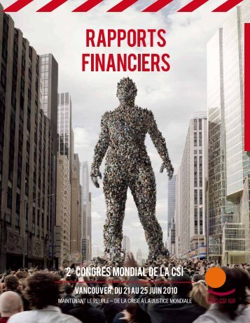 rapports financiers - ITUC