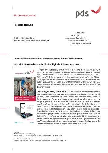 Wie sich Unternehmen fit für die digitale Zukunft machen...