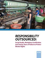 Responsibility outsouRced: - ITUC