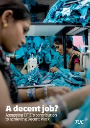 A decent job? - World Day for Decent Work 2012