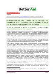 componentes de una agenda de la eficacia del desarrollo ... - ITUC