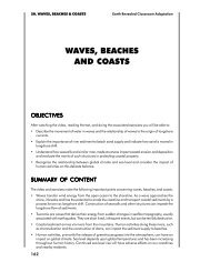 WAVES, BEACHES AND COASTS
