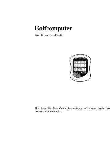 Golfcomputer