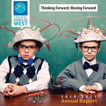 Annual Report - Center of the American West