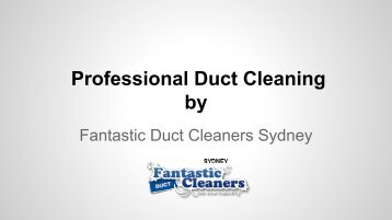 Professional Duct Maintenance in Sydney