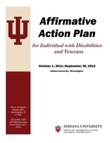 a look at the demerits of affirmative action But in higher education, at least, affirmative action has resulted in admission of students who perform substantially worse according to objective criteria -- grades and test scores -- than those admitted without affirmative action (research on affirmative action in employment is too limited to make such judgments.