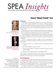 "Toward ""Climate Friendly"" Coal - Indiana University"