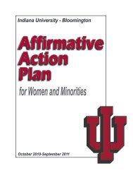 for Women and Minorities - Indiana University
