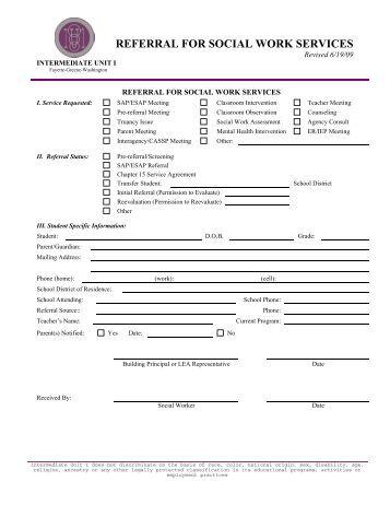 referral sheet template