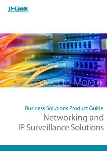 D-Link Business Solutions Product Guide