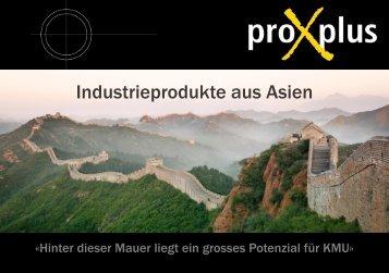 Industrieprodukte aus Asien