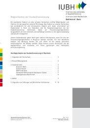 Möglichkeiten der Studienfinanzierung - IUBH