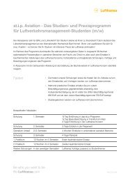st.i.p. Aviation - Das Studien- und Praxisprogramm für ... - IUBH