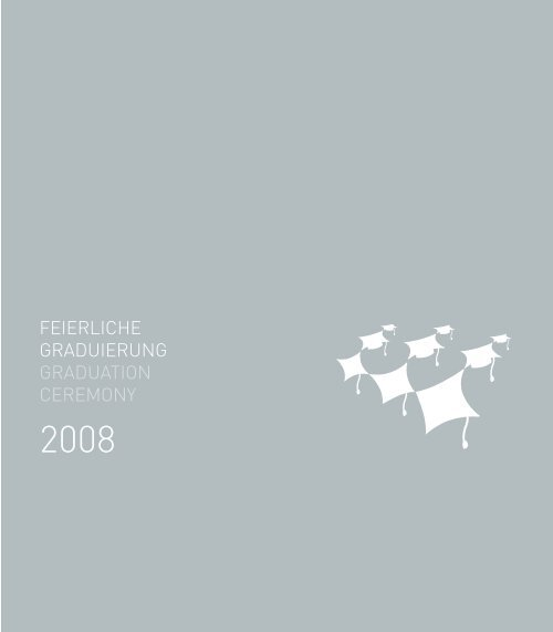Graduiertenbroschüre 2008.qxp - IUBH
