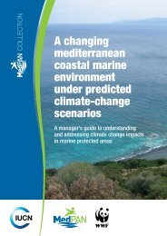 A changing mediterranean coastal marine environment ... - IUCN