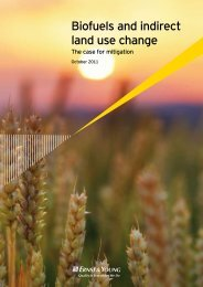 Biofuels and indirect land use change The case for ... - ENDS Europe