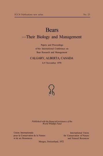 Bears - IUCN