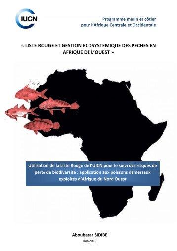 liste rouge et gestion ecosystemique des peches en afrique ... - IUCN