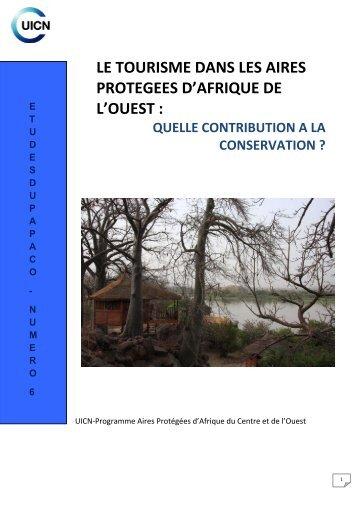 le tourisme dans les aires protegees d'afrique de l'ouest - IUCN