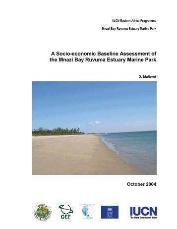 a socio-economic baseline assessment of the mnazi bay - IUCN