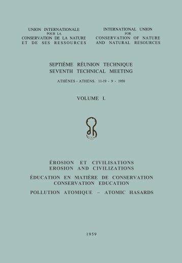 septième réunion technique seventh technical meeting ... - IUCN
