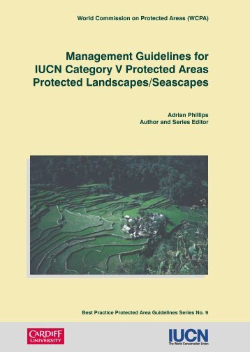 Management Guidelines for IUCN Category V ... - Mekong Tourism