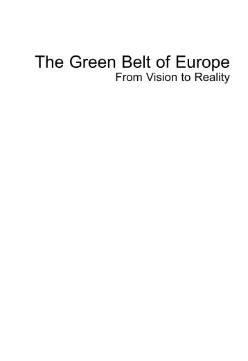 The Green Belt of Europe - IUCN