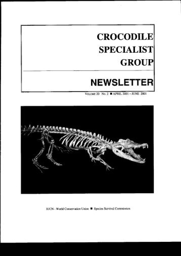 NEWSLETTER - Crocodile Specialist Group