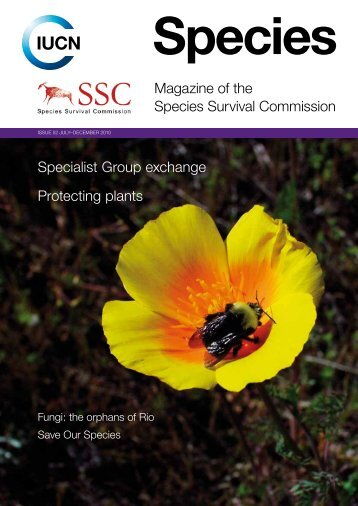 Magazine of the species survival Commission specialist Group - IUCN