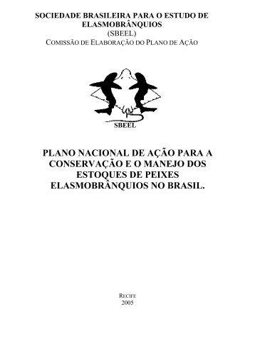 Plano Nacional de Ação para a Conservação e o Manejo dos ...