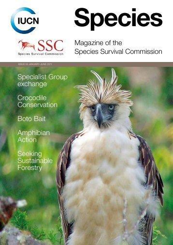 Magazine of the species survival Commission specialist ... - IUCN
