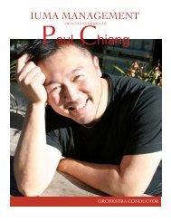 Paul Chiang - IUMA Management