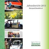 Jahresbericht 2013 Naturpark Nordeifel