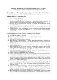 Ogłoszenie o konkursie na funkcję dyrektora Instytutu Uprawy ...