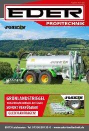 Landtechnik Beilage Schwaben - TOP Angebote Maschinen und Ersatzteile