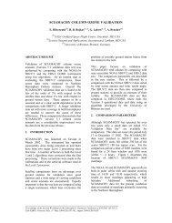 sciamachy column ozone validation - ESA
