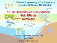 10. CE-Techniques Comparison Side Effects Summary - Institut für ...
