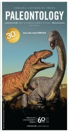 tyrannosaurus rex - Indiana University Press