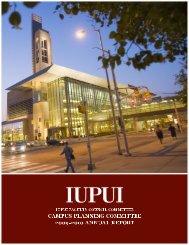 Annual Report 2009-2010 - IUPUI