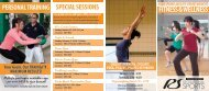 FITNESS & WELLNESS - IU Campus Recreational Sports