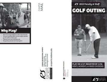 GOLF OUTING - IU Campus Recreational Sports