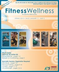 Fitness Wellness Program (PDF) - IU Campus Recreational Sports