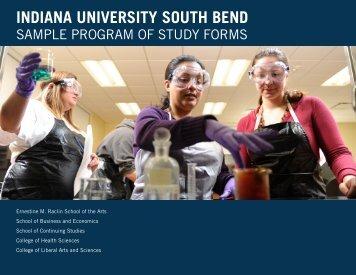 Sample Programs of Study - Indiana University South Bend
