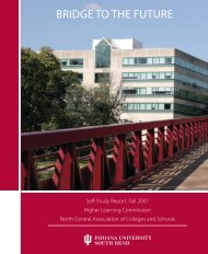 HLC Self-Study - Indiana University South Bend