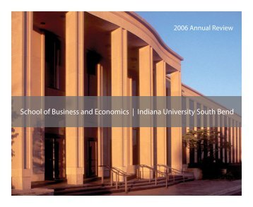 School of Business and Economics | Indiana University South Bend