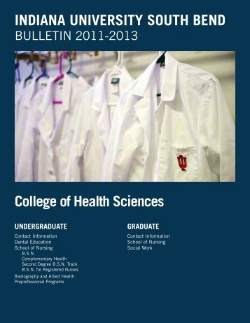 Campus Bulletin PDF Pages - Indiana University South Bend