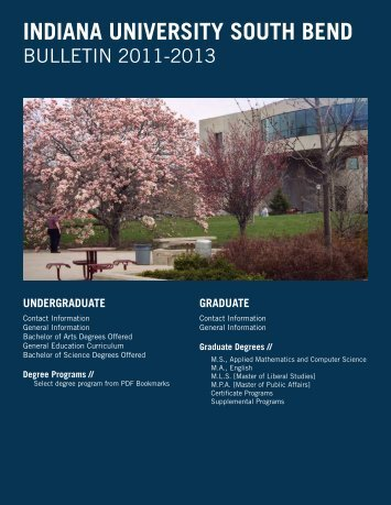 college of liberal arts and sciences - Indiana University South Bend